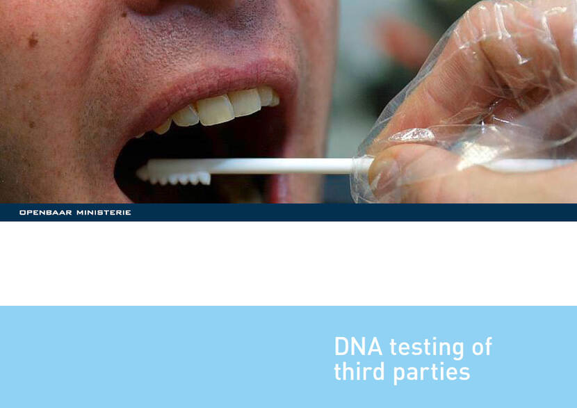 DNA testing of third parties