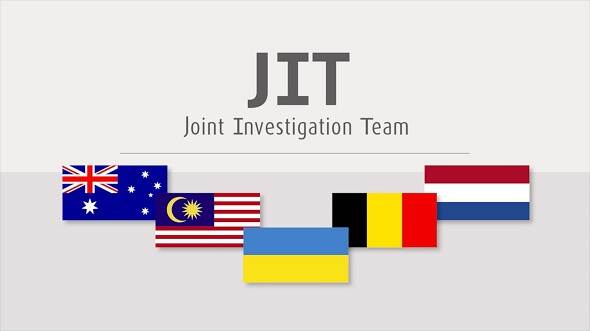 Flags of JIT MH17 countries